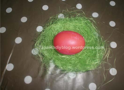 πασχαλινά αυγά βαμμένα με φυσικό τρόπο